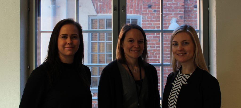 Annika Ojala, Jessica Örn, Susanna Häyry