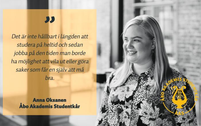 Anna Oksanen FSF kandidat citat
