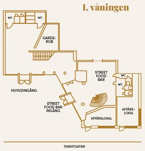 1 våningen